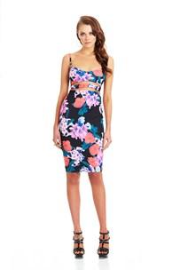 Black Secret Garden Bustier Dress : Buy on Sale Now