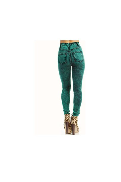 jeans green