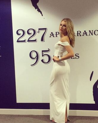 dress white white dress prom dress wedding dress prom gown prom beauty lottie moss instagram maxi dress