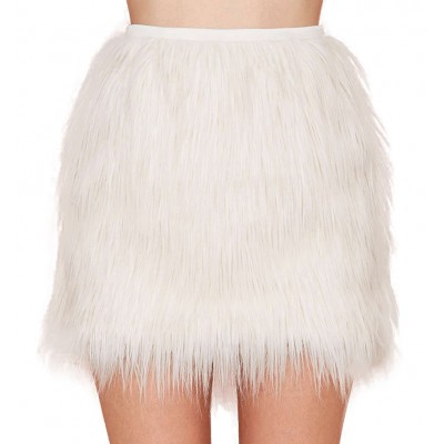 aa157086e High Waist Faux Feather Mini Skirt