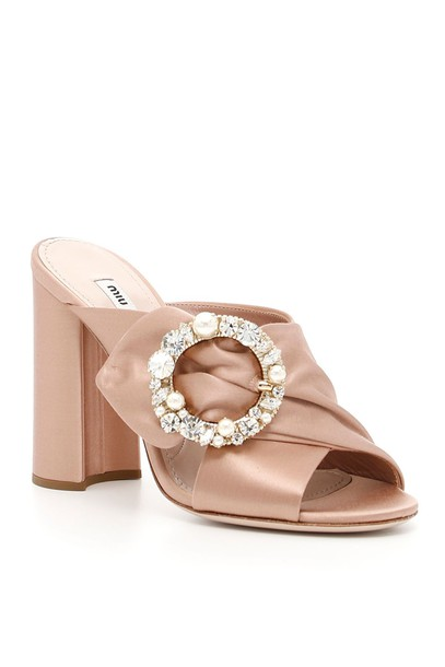 sandals satin shoes