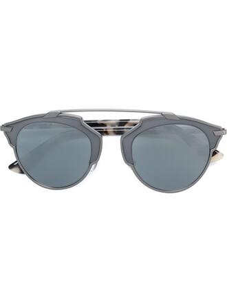 metal women sunglasses brown