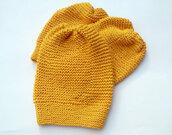 hat,knitted hat,knit women,women hat,yellow hat,chucky beanie,women beanie,hand knit beanie,teen beanie