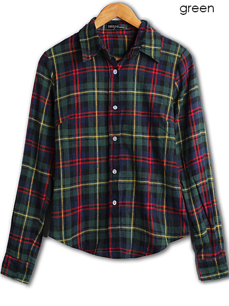 Plaida Flannel Shirt | Outfit Made