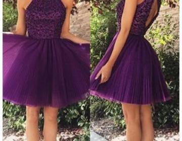 Formal Dress Prom Dress Purple O Ne..