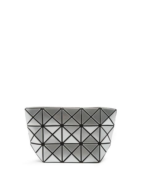 BAO BAO ISSEY MIYAKE zip pouch silver bag