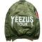 Limited edition yeezus tour bomber jacket