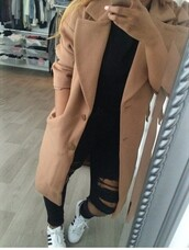 beige,fall outfits,trench coat,fall jacket,coat,brown,winter coat