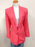 Pink fundamental blazer (m/l) (v)
