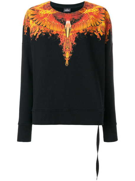 Marcelo Burlon County Of Milan - Ellas sweatshirt - women - Cotton - XXS, Black, Cotton
