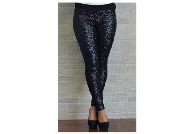 pants black glitter glitter shiny bottoms leggings black leggings