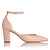 Alexa Pink Leather Heels