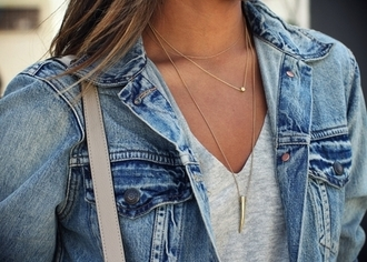jewels summer style like necklace gold necklace gold streetstyle