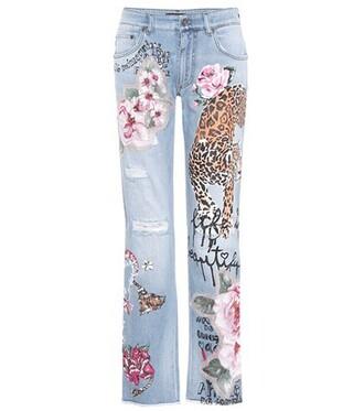 jeans embellished blue