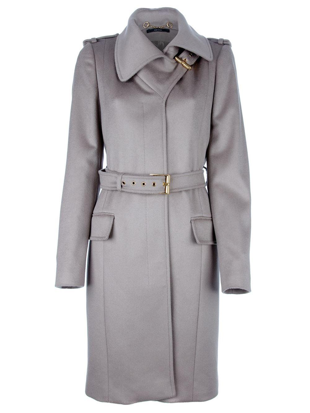 Gucci Belted Coat - - Farfetch.com