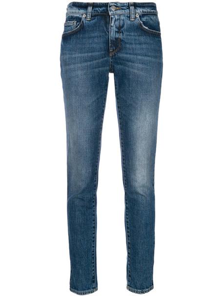 Department 5 jeans skinny jeans women spandex cotton blue