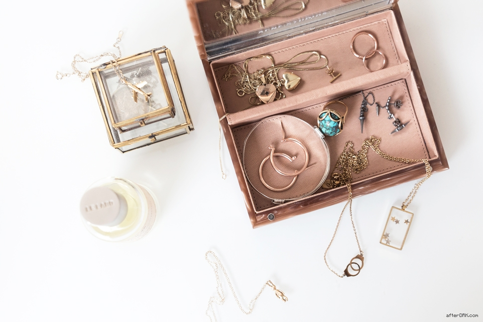 afterDRK MONTHLY CRAVINGS, petit jewelry by Nicole Huisman - afterDRK