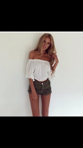 boho summer shorts