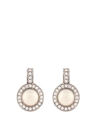 crystal earrings pearl earrings jewels