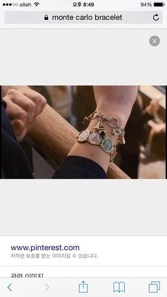 leighton meester charm bracelet montecarlo bracelets leighton meester armani
