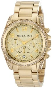 Michael Kors Golden Runway Watch with Glitz MK5166: Watches: Amazon.com