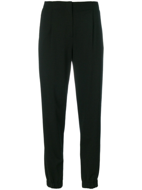 PS By Paul Smith high waisted high women spandex cotton black pants
