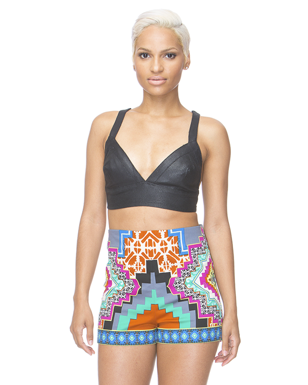 PRINT ENVY High Waist Shorts – FLYJANE