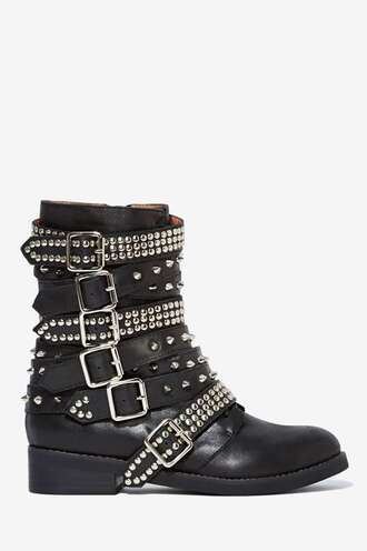 shoes booties cowboy boots boots with studs studs jeffrey campbell beautiful