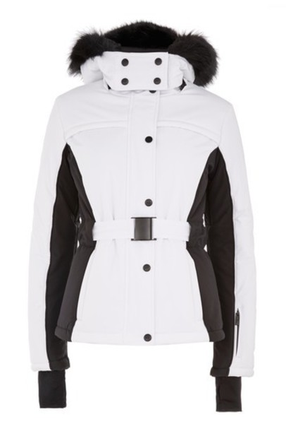 Topshop jacket monochrome