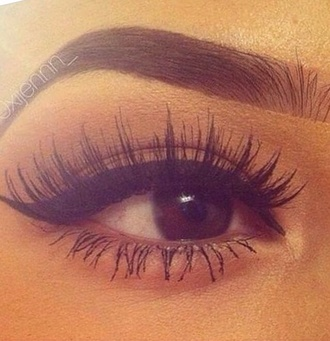 make-up eyelashes fake eyelashes long eye lashes accessories day out nice