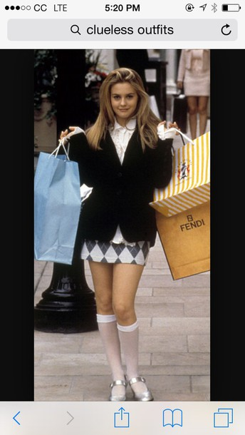 blouse clueless costume clueless cluess clueless the movie clueless looks clothes clueless shirt vintage pretty 90s style
