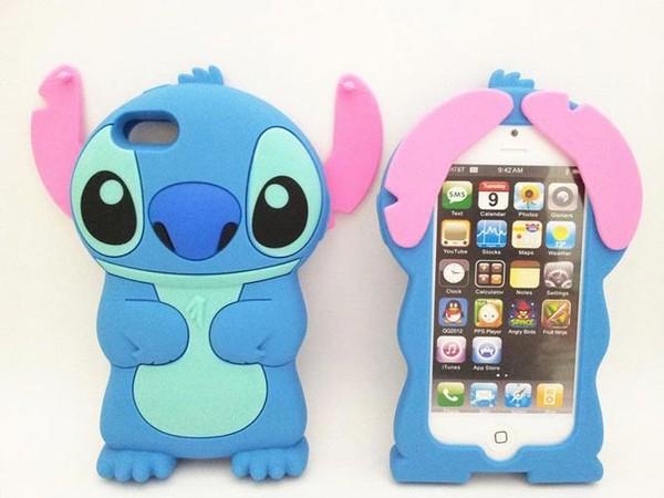 jewels iphone case stitch iphone 5 case phone cover iphone 5 case stich lilo and stitch