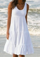dress,summer,cotton,white,beach,beach dress,beachwear