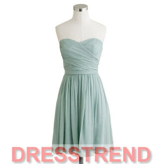 dress bridesmaid wedding short bridesmaid dress sky blue dress
