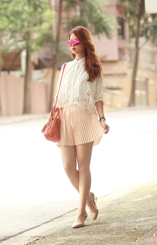 mellow mayo sunglasses bag shoes socks skirt