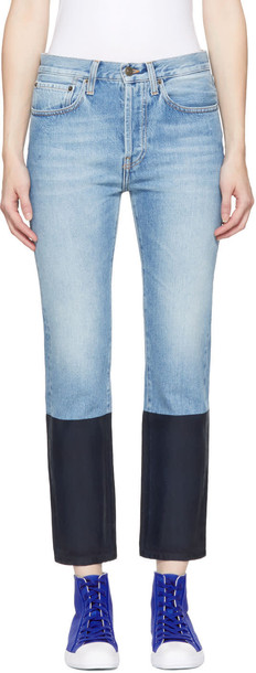 Ports 1961 jeans colorblock navy