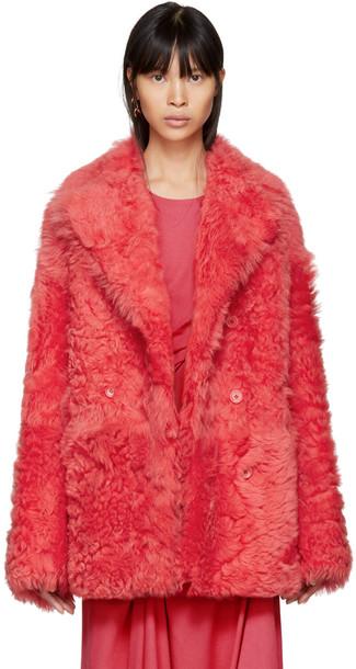 SIES MARJAN pink coat