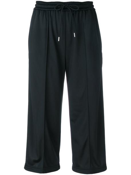 MSGM pants cropped women black