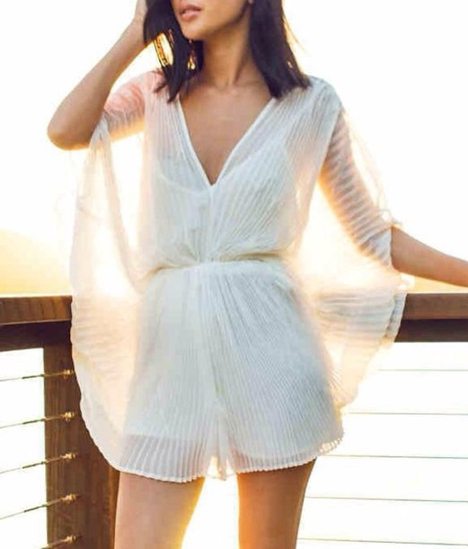 Jumpsuit Romper Shorts Style Fashion Ootd Lace Dress Lace