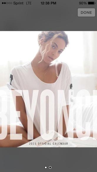 beyoncé white t-shirt