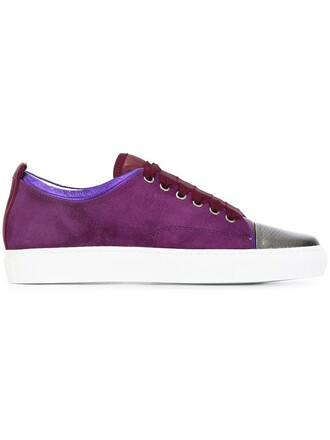 classic sneakers lace purple pink shoes