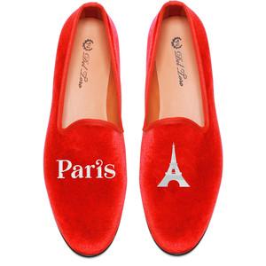 Del Toro Prince Albert Paris | Eiffel Tower Slipper Loafers - Polyvore