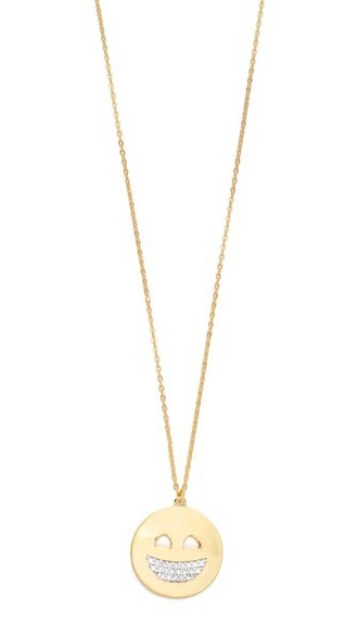 necklace gold white yellow jewels