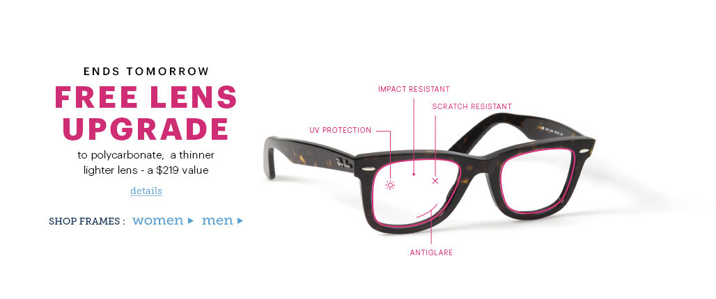 Prescription Glasses Frames Online at Glasses.com | Free Lenses