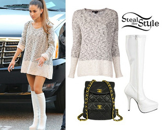blouse ariana grande tights clothes dress