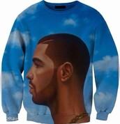 sweater,drake,nothing was the same,swimwear