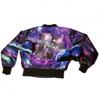 NoTone Galaxy Jacket | White Boy Dunking