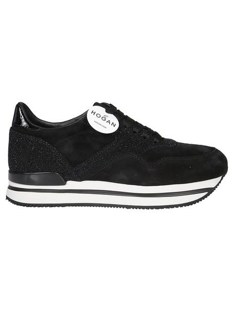 Hogan sneakers black shoes