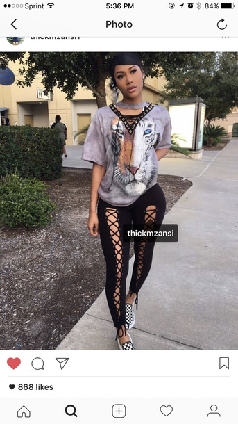b13fac30d2 pants black black pants lace up party outfits sexy sexy outfit summer  outfits spring outfits fall