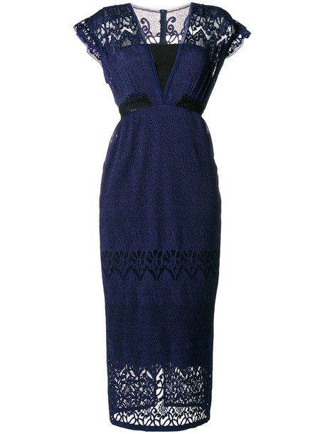 dress women blue